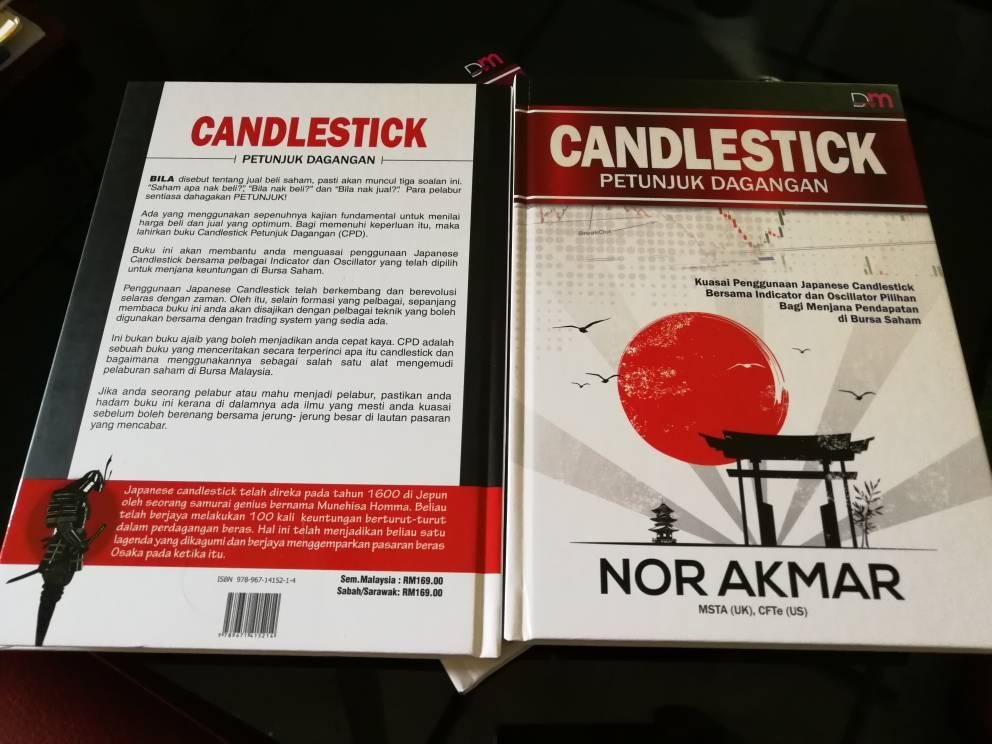 Coretan sempena pelancaran buku Candlestick Petunjuk Dagangan.