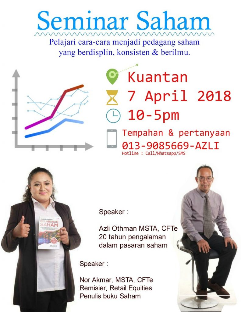 Seminar Saham- Kuantan 7 April 2018